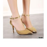 Giày cao gót đế vàng cao cấp