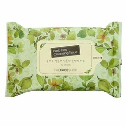 Giấy tẩy trang Herb day Cleaning Tissue 20 tờ The Face Shop  Hàn Quốc