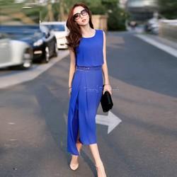 Đầm Maxi Xẻ Tà Cách Điệu