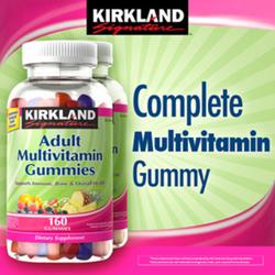 Kẹo Dẻo Multivitamin Gummies Kirkland 160 Viên