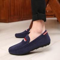 Giày lười da lộn thời trang Glado - G40