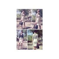 Chân váy trắng xòe Ngọc Trinh V015