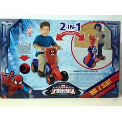 Xe Chòi Chân Marvel Ultimate SuperMan Ride 2 in 1 Scoot