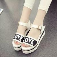 HÀNG LOẠI I - Giày sandal LOVE cao cấp