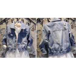 áo khoác jean 69