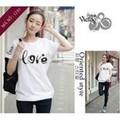 áo thun trắng chữ LOVE
