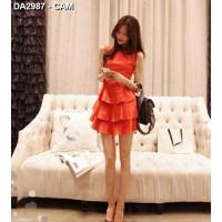Đầm công chúa xếp tầng Mã: DA2987 - CAM