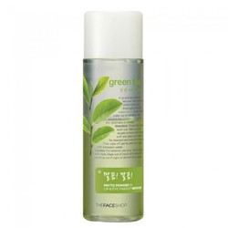 Tẩy Trang The Face Shop Green Tea Phyto Powder In Lip  Eye Remover