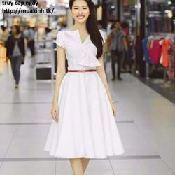 Đầm thu thảo trắng