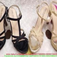 Giày cao gót thiết kế sang trọng quai hậu thời trang xuất khẩu GC125