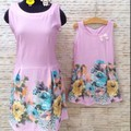 Đầm đôi xinh xinh mùa hè cho mẹ và bé chất thun nhập Hàn Quốc cực đẹp