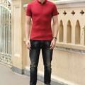 Aó thun nam màu đỏ tươi from body cực chuẩn dành cho nam giá rẻ nhất
