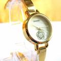 Đồng hồ Chanel vàng hoa mai