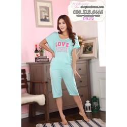 Đồ bộ lửng mặc nhà hàng xuất khẩu hiệu pink - DB290