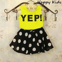 Bộ váy chử YEP dễ thương