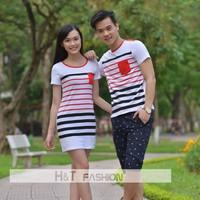 Áo phông nam - váy nữ đôi HT211