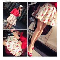 Chân váy vintage hình con chim Mã: VN310