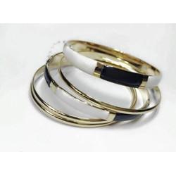 Bộ vòng tay 3 màu thời trang dễ kết hợp với trang phục