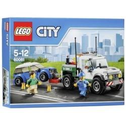 Bộ lắp ráp Xe bán tải cứu hộ  - LEGO City 60081 Pickup Tow Truck