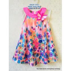 Đầm hoa bướm mùa hè xinh lắm