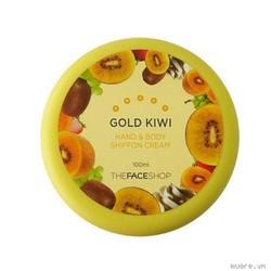 Kem dưỡng thể và tay Shiffon cream Kiwi 100ml Hàn Quốc