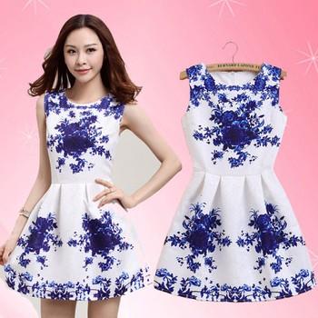 Đầm nữ vải gấm nổi in họa tiết