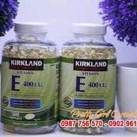 Vitamin E thiên nhiên 400 I.U Kirkland Signature 500 viên của Mỹ