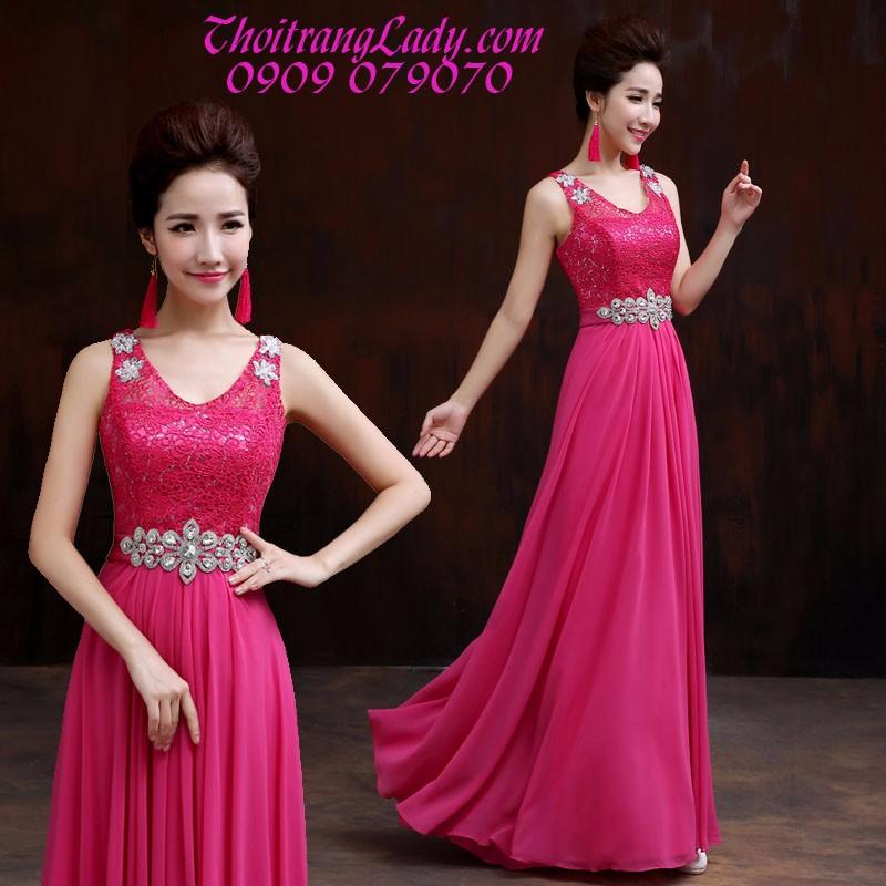 Đầm dạ hội sang trọng DV364 1