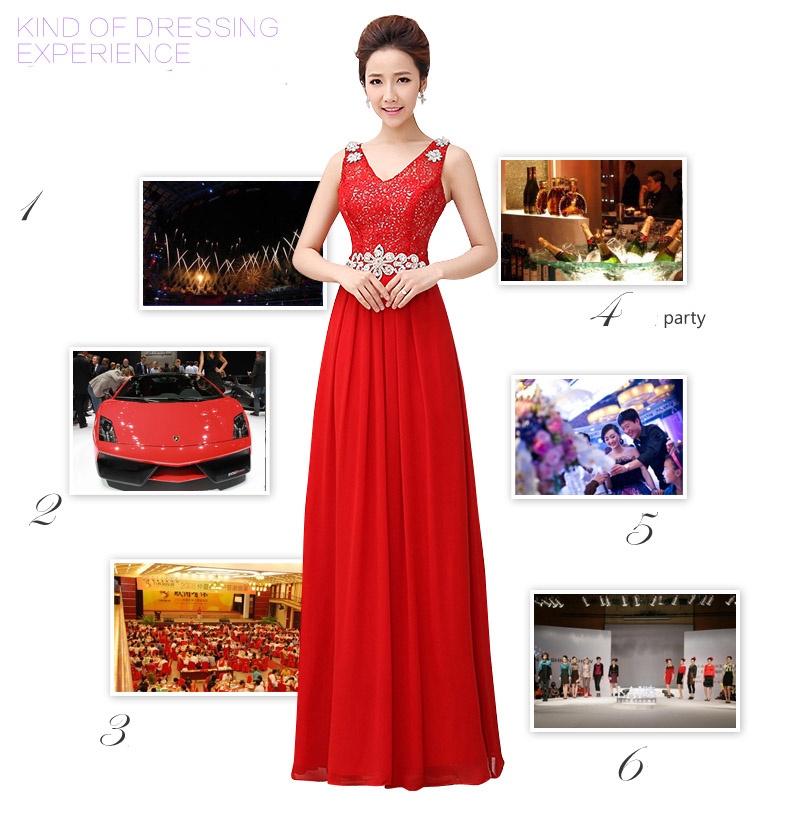 Đầm dạ hội sang trọng DV364 9