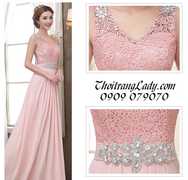 Đầm dạ hội sang trọng DV364 13