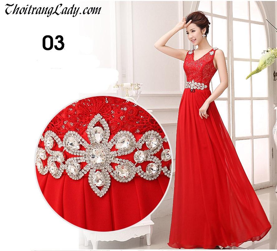 Đầm dạ hội sang trọng DV364 7