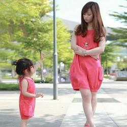 Đầm thời trang cho mẹ và bé 6676