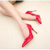HÀNG NHẬP CAO CẤP - Giày cao gót da bóng red cao cấp