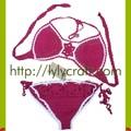Bikini móc bằng len - Handmade