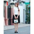 Đầm suông duyên dang-MSP  D9846