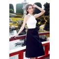 HÀNG NHẬP CAO CẤP - Set áo yếm váy xòe Ngọc Trinh