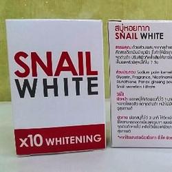 Soap kích trắng SNAIL WHITE x10 whitening