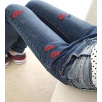 Quần jeans skinny hình môi Mã: QD682