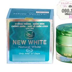 Kem dưỡng trắng giảm nám chống nhăn NEW WHITE UV30 - hx826