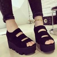 Giày Sandal Đế Xuồng G-239