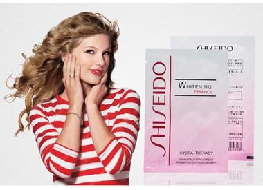 combo 2 hop Mặt nạ bùn non Whitening Essence Shiseido 5