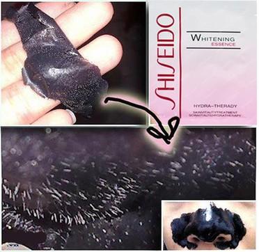 combo 2 hop Mặt nạ bùn non Whitening Essence Shiseido 4