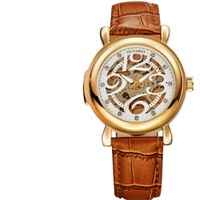 Đồng hồ OUYAWEI tự động dây da đẳng cấp OU003