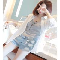 Quần short jeans túi rách Mã: QN530