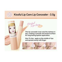 Son che khuyết điểm môi Etude. House Kissful Lip Care Lip Concealer