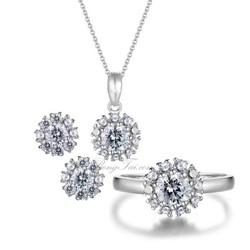Bộ trang sức bạc SPB0222