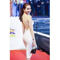 HÀNG NHẬP CAO CẤP - Đầm body lệch vai dây chéo lưng sexy