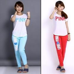 Đồ bộ love pink - LV625