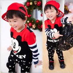 Bộ áo và quần bé trai nhập khẩu V063