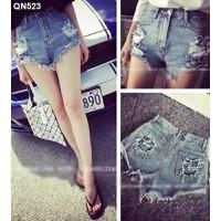 Quần short jeans túi rách Mã: QN523